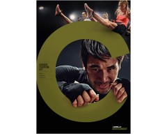 2018 Q1 Routines BODY COMBAT 74 DVD + CD + waveform graph