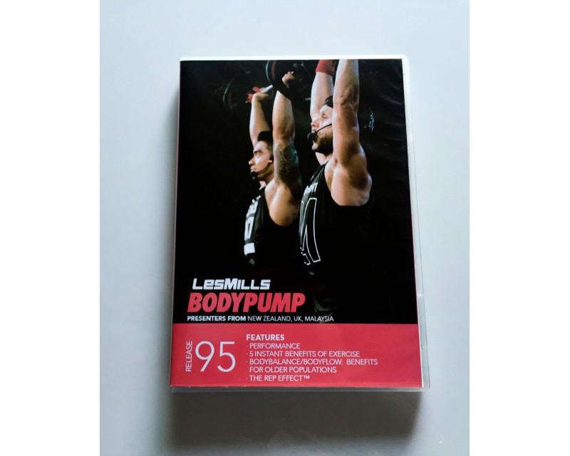 BODY PUMP 95 HD DVD + CD + waveform graph