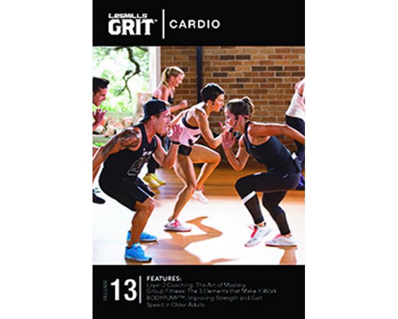 GRIT Cardio 13 DVD+CD + waveform grap