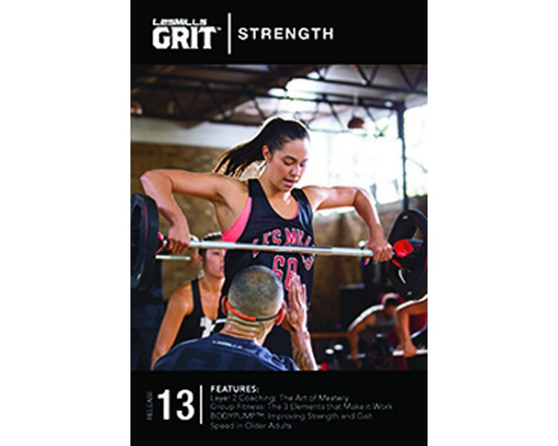 GRIT Strength 13 DVD + CD+ waveform graph