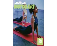 [Hot Sale]LesMills Routines BODY BALANCE 89 New Release BODY FLOW 89 DVD, CD & Notes