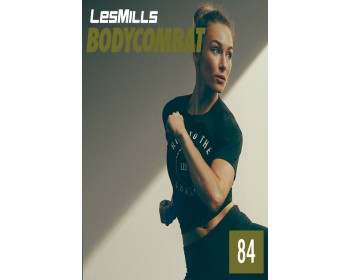 [Hot Sale]Les Mills BODY COMBAT 84 New Release BC84 DVD, CD & Notes
