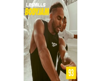 [Hot Sale]Les Mills Body Jam 93 New Release BJ93 DVD, CD & Notes