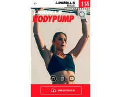 [Hot Sale]LesMills Routines BODY PUMP 114 New Release BP114 DVD, CD & Notes