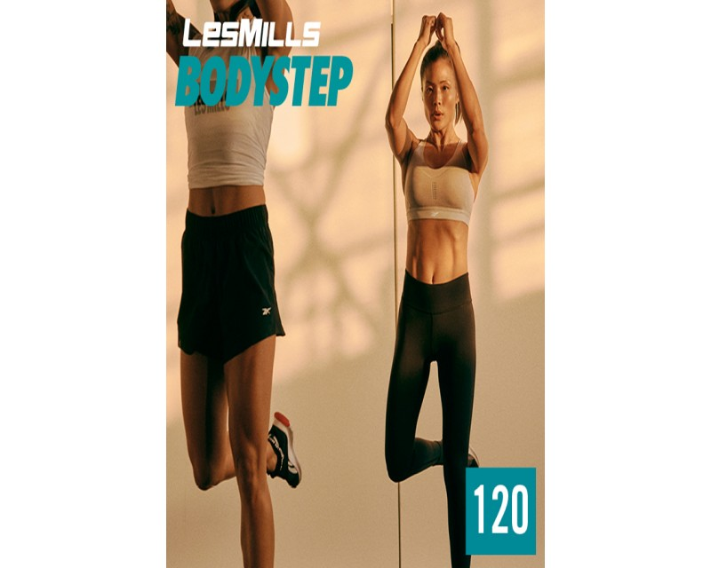 [Hot Sale]LesMills Routines BODY STEP 120 New Release BS120 DVD, CD & Notes