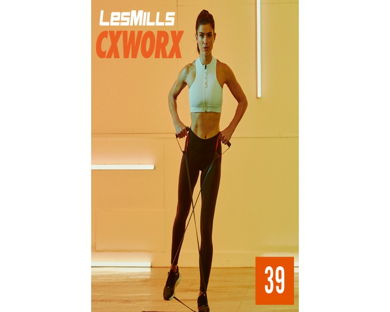 [Hot Sale]LesMills Routines CXWORX™39 New Release CX39 DVD, CD & Notes