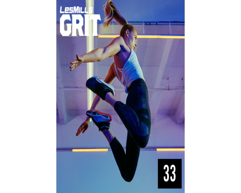 [Hot Sale]Les Mills GRIT Strength 33 New Release ST33 DVD, CD & Notes