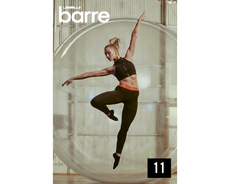 [Hot sale]Les Mills Routines Barre 11 New Release 11 DVD, CD & Notes