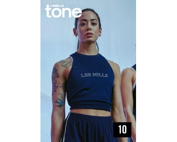 [Hot Sale]LesMills TONE 10 New Release 10 DVD, CD & Notes