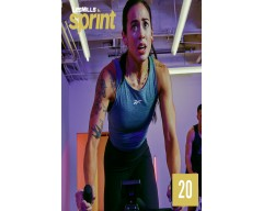[Hot Sale]Les Mills Routines SPRINT 20 New Release 20 DVD, CD & Notes