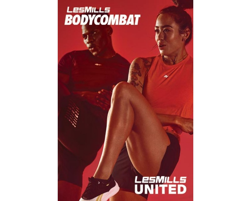 [Hot Sale]Les Mills Q3 2020 BODY COMBAT United releases DVD, CD & Notes
