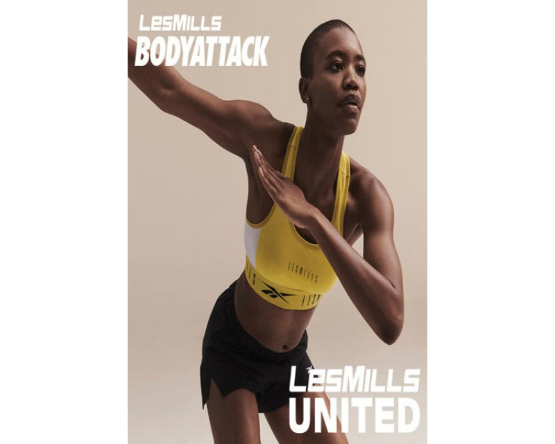 [Hot Sale]LesMills Q3 2020 BODY ATTACK United releases New Release DVD, CD & Notes
