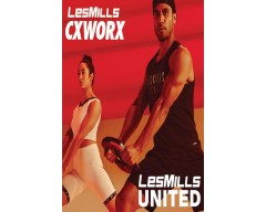 [Hot Sale]LesMills Q3 2020 Routines CXWORX™ United releases DVD, CD & Notes