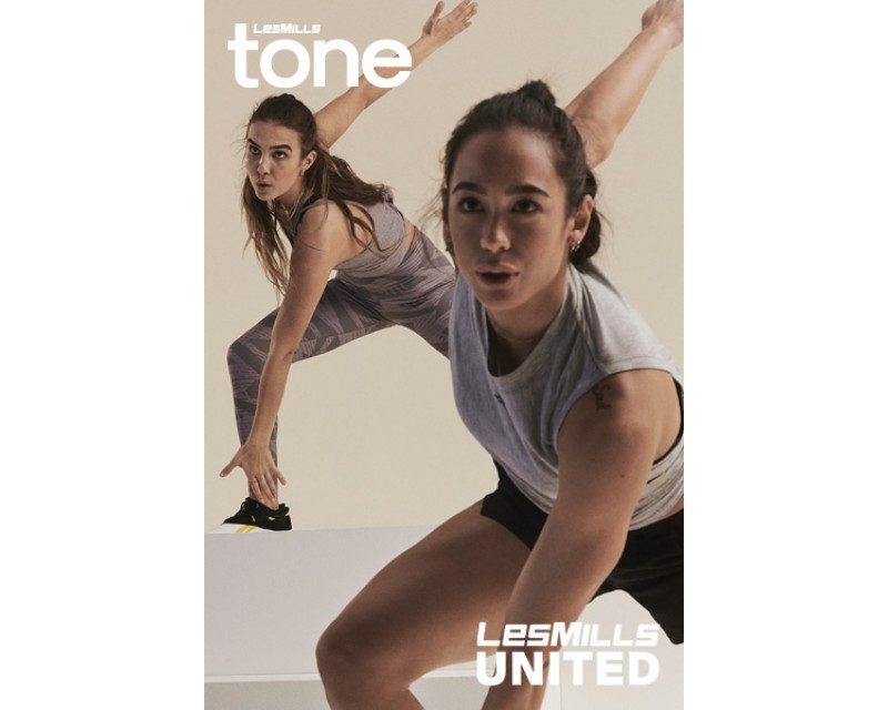[Hot Sale]LesMills Q3 2020 TONE United releases DVD, CD & Notes