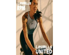 [Hot Sale]LesMills Q3 2020 Routines RPM United releases RPM DVD, CD & Notes