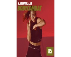 [Hot Sale]Les Mills Q4 2020 BODY COMBAT 85 releases New Release DVD, CD & Notes