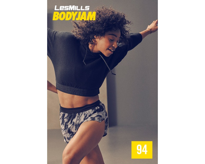 [Hot Sale]Les Mills Q4 2020 Body Jam 94 New Release BJ94 DVD, CD & Notes