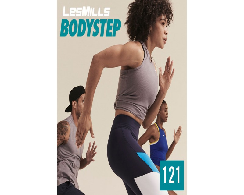[Hot Sale]LesMills Q4 2020 Routines BODY STEP 121 releases New Release DVD, CD & Notes