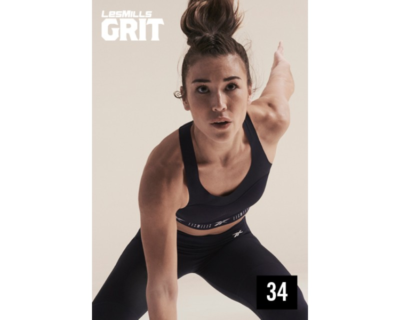 [Hot Sale]Les Mills Q4 2020 GRIT ATHLETIC 34 releases New Release AT34 DVD, CD & Notes