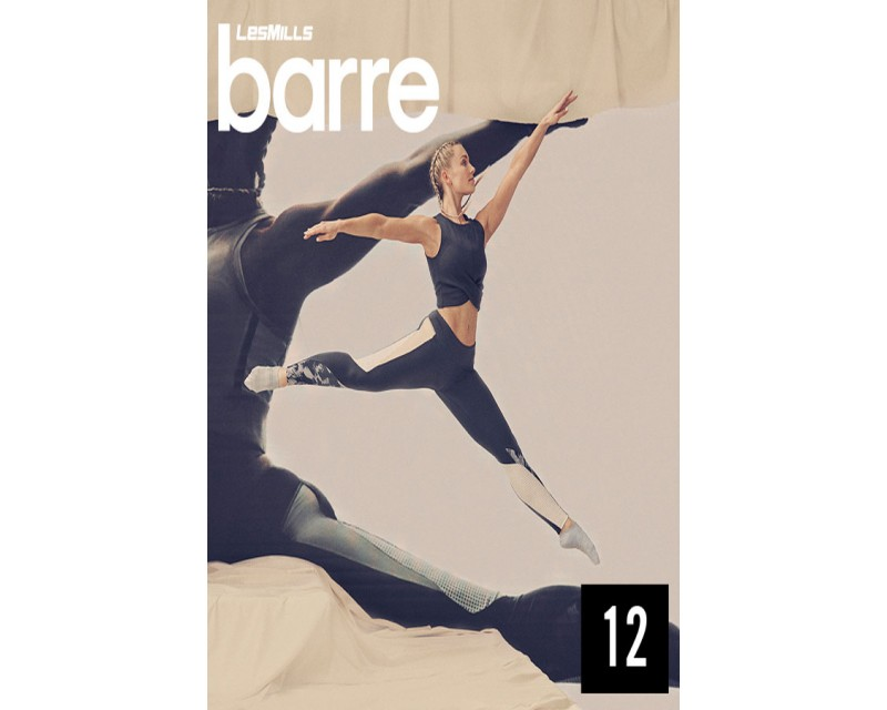 [Hot sale]Les Mills Q4 2020 Routines BARRE 12 releases New Release BR12 DVD, CD & Notes