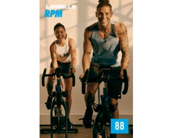 [Hot Sale]LesMills Q4 2020 Routines RPM 88 releases RPM 88 DVD, CD & Notes