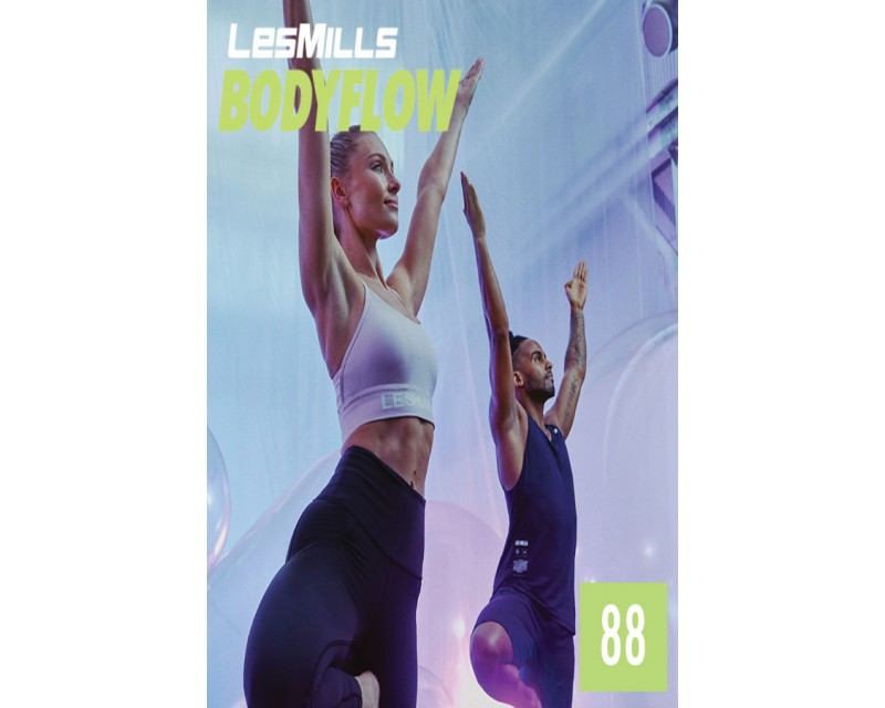 [Hot Sale]LesMills Routines BODY BALANCE 88 New Release BODY FLOW 88 DVD, CD & Notes