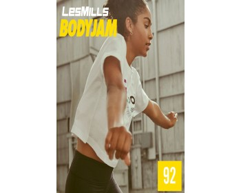 [Hot Sale]Les Mills Body Jam 92 New Release BJ92 DVD, CD & Notes