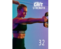 [Hot Sale]Les Mills GRIT Strength 32 New Release ST32 DVD, CD & Notes