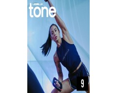 [Hot Sale]LesMills TONE 09 New Release 09 DVD, CD & Notes