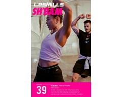 [Hot Sale]LesMills SH BAM 39 New Release 39 DVD, CD & Notes