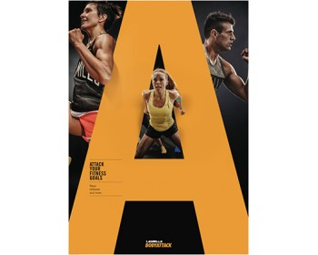 [Pre Sale]LesMills BODY ATTACK 108 New Release 108 DVD, CD & Notes