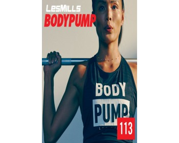 [Hot Sale]LesMills Routines BODY PUMP 113 New Release BP113 DVD, CD & Notes