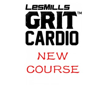 [Pre sale]Les Mills GRIT Cardio 32 New Release CA32 DVD, CD & Notes