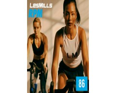 [Hot Sale]LesMills Routines RPM 86 New Release RPM86 DVD, CD & Notes