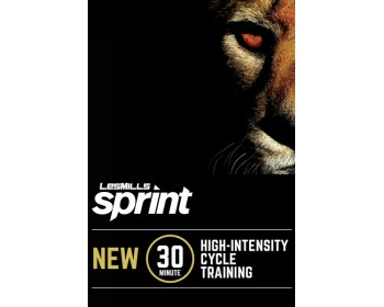 [Hot Sale]Les Mills Routines SPRINT 19 New Release 19 DVD, CD & Notes