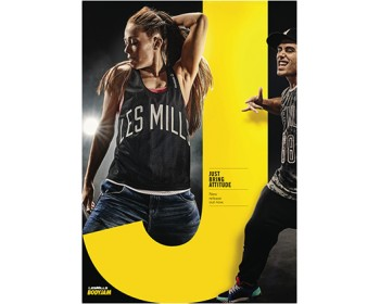 [Pre Sale]Les Mills Q1 2021 Body Jam 95 New Release BJ95 DVD, CD & Notes