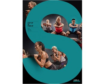 [Pre Sale]LesMills Q1 2021 Routines BODY STEP 122 releases New Release DVD, CD & Notes