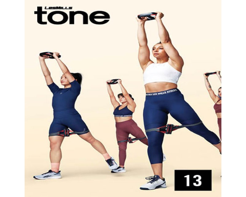 Hot Sale LesMills Q2 2021 TONE 13 releases New Release DVD, CD & Notes