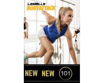 2018 Q2 Routines BODY ATTACK 101 HD DVD + CD + waveform graph