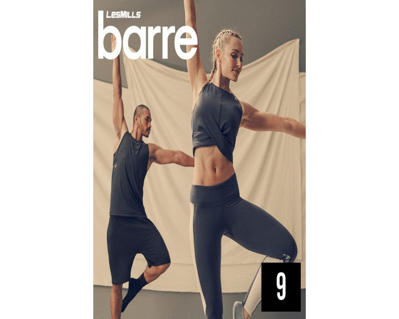 [Hot sale]Les Mills Routines Barre 09 New Release 09 DVD, CD & Notes
