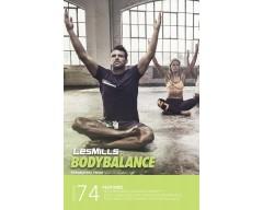 Les Mills BODYBALANCE 74 DVD, CD, Notes BODY BALANCE