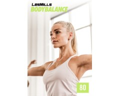 LesMills Routines BODY BALANCE 80 Release BODY FLOW 80 DVD, CD & Notes