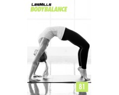 LesMills Routines BODY BALANCE 81 Release BODY FLOW 81 DVD, CD & Notes