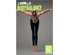 LesMills Routines BODY BALANCE 83 Release BODY FLOW 83 DVD, CD & Notes