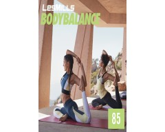 LesMills Routines BODY BALANCE 85 Release BODY FLOW 85 DVD, CD & Notes