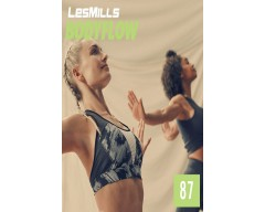 [Hot Sale]LesMills Routines BODY BALANCE 87 New Release BODY FLOW 87 DVD, CD & Notes