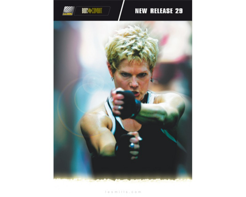 BODY COMBAT 29 HD DVD + CD