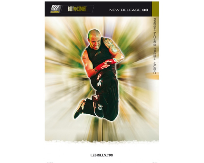 BODY COMBAT 30 HD DVD + CD