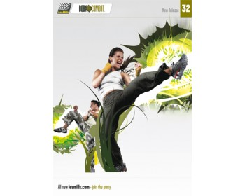 BODY COMBAT 32 HD DVD + CD