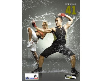 BODY COMBAT 41 HD DVD + CD + waveform graph